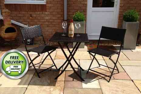 London Rattan - Luxury three piece  Piccadilly garden furniture set  - Save 75%