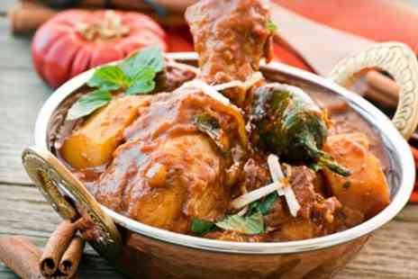 Red Oven - Two Course Indian Meal With Wine For Two - Save 54%