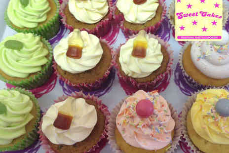 Sweet Cakes - Milkshake and Cupcake for Two - Save 55%