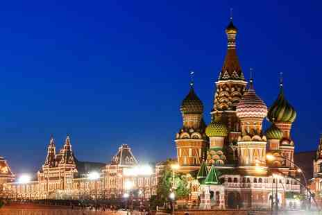 Travel Insight - Three night stay including flights breakfast in Moscow - Save 50%