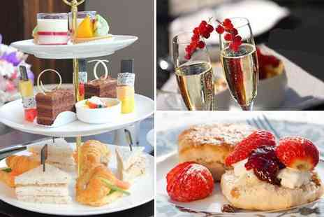 Tea on the Wall - Delicious Prosecco afternoon tea for two - Save 62%