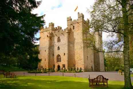 Langley Castle - In Northumberland One Nights For Two with Breakfast and Battlements Tour - Save 55%