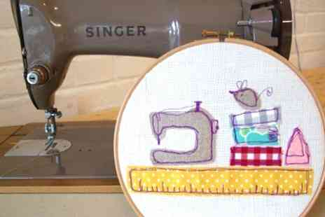 Made and Making - Free Motion Embroidery Workshop - Save 53%