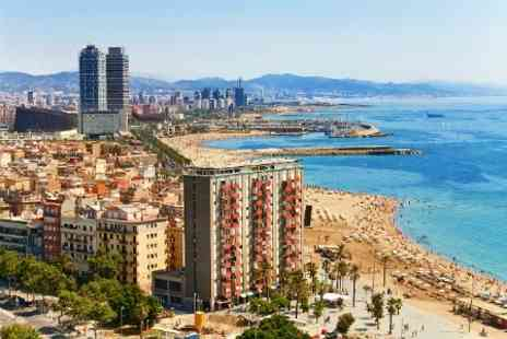 Airbridge Travel - In Barcelona Two Night 4star Stay With Manchester Flights For Two - Save 48%