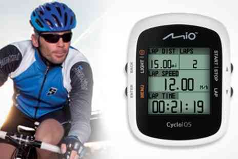 Box.co.uk - Mio Cyclo 105 GPS Training Companion - Save 36%