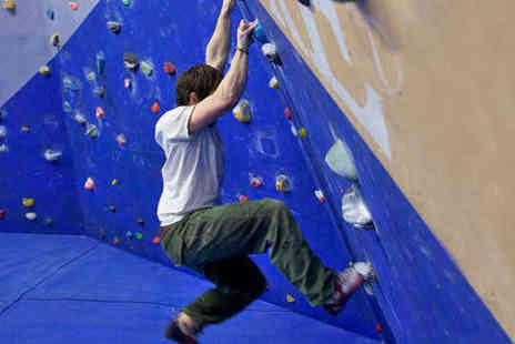 The Climbing Academy - Bouldering Induction with Shoe Hire and Two Future Passes - Save 73%