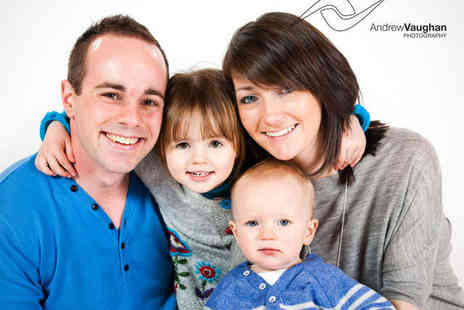 Andrew Vaughan Photography - Hour Long Family Photo Shoot with One 9x6Inch Mounted Print - Save 84%