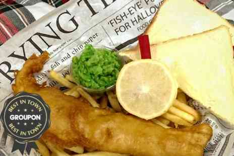 Alea Glasgow - Fish and Chips Meal for Two - Save 50%