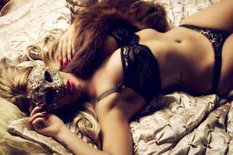 Flash Photography - Boudoir Photoshoot With Hair and Make Up Styling and Print - Save 80%