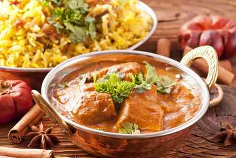 The Spice House Leeds - Two Course Indian Meal Half Price Drink - Save 57%