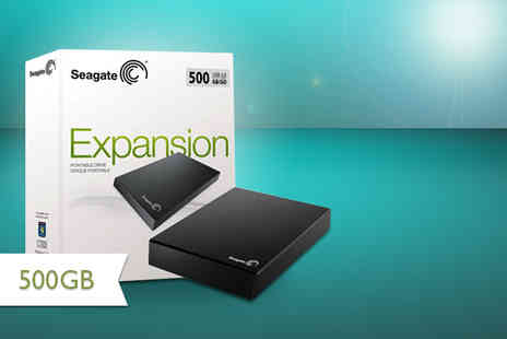 CMS Distribution - 500GB Seagate Expansion hard drive - Save 57%
