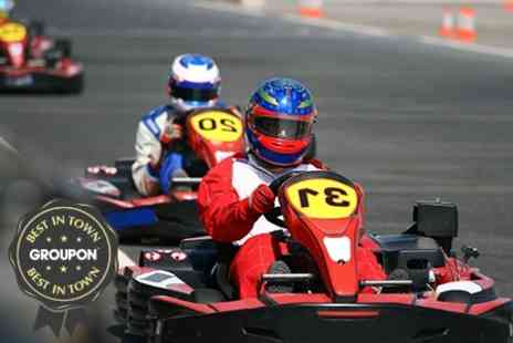 Tockwith Kart School - Up to 30 Laps of Karting - Save 50%