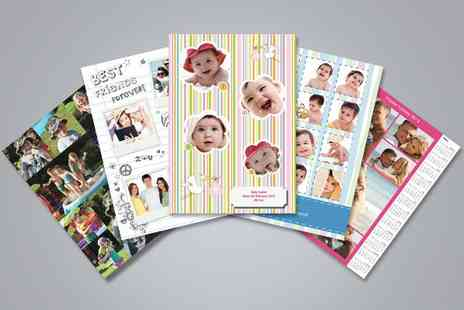 Advanced Photoprint - Two 51cm x 36cm personalised collage posters - Save 41%