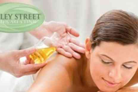Harley Street Healthcare Clinic - Full Manicure Plus Hot Oil Neck Back and Shoulder Massage - Save 60%