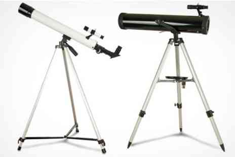 James Russell - Zennox Telescope With Tripod in Choice of Sizes - Save 70%