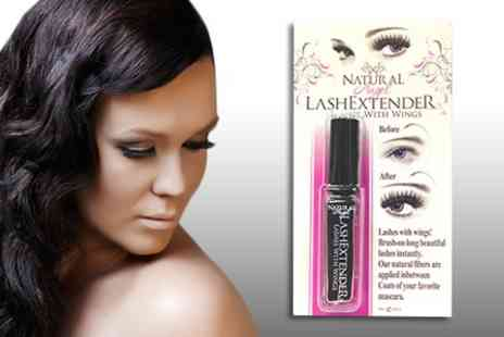 Chemist 4 U - Brush On Natural Angel Lash Extender in Choice of Colours - Save 84%