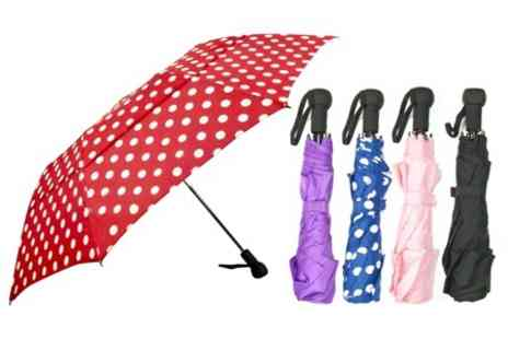 James Russell - Windproof Umbrella - Save 60%