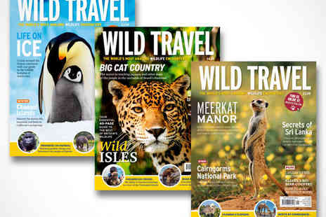 Wild Travel - 12 Month Subscription to Wild Travel Magazine - Save 62%