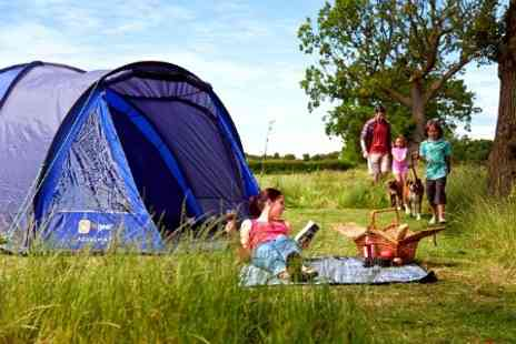 Waldegraves Holiday - In Mersea Island Three Night Camping Pitch For Up to Four - Save 70%