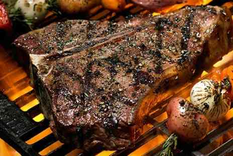 The Loft - T Bone Steak 750g For Two People With Side Each - Save 24%