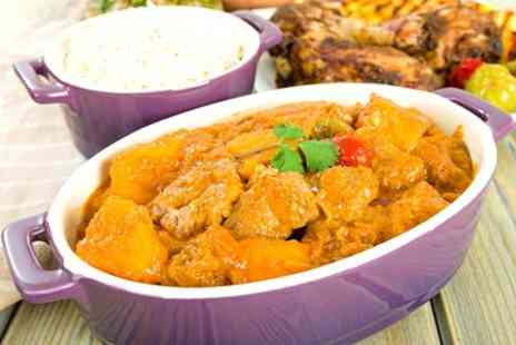 Masala Lounge - Two Course Indian Meal With Side For Two - Save 54%