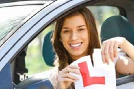 Gold The Driving Academy - Three 60 Minute Driving Lessons - Save 67%