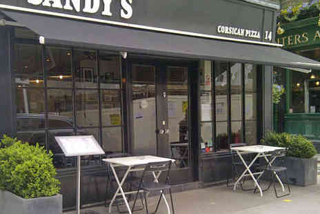 Sandys Corsican Pizza - Voucher to Spend Towards Food and Drink - Save 50%