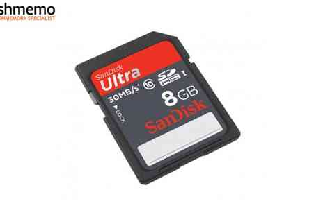 Flashmemo - Sandisk 8GB Memory Card - Save 53%