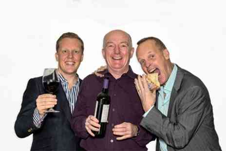 Three Wine Men - Ticket To The Three Wine Men Food and Drink Event - Save 50%
