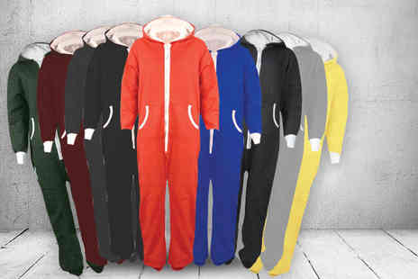 Karma Clothing - Hooded onesie in a choice of 9 colours - Save 50%