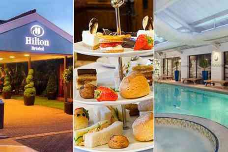 Hilton Bristol - Champagne afternoon tea for four  - Save 56%