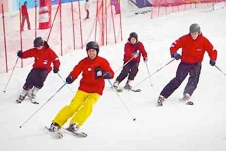 Hemel Snowcentre - Full Day Beginners Skiing or Snowboarding Day With Lunch - Save 57%