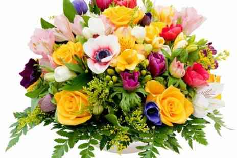 Joannes Florists - Large Hand Tied Bouquet of Flowers - Save 67%