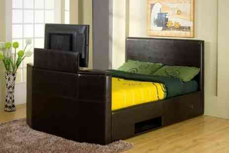 BnMW - King Size TV Bed Frame - Save 65%