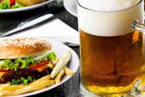 Volunteer Tavern - Beer Festival Burger and Three Half Pints - Save 51%