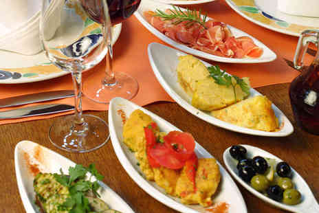 Gecko Bar - Six Tapas Dishes to Share and a Glass of Wine Each for Two - Save 62%