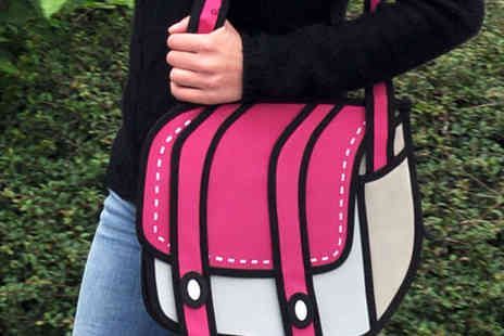 Fresh Innovations - Cartoon Bag in Pink or Blue - Save 62%