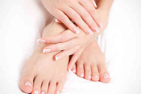 Pedicure Plus - Deluxe Manicure and Pedicure - Save 64%