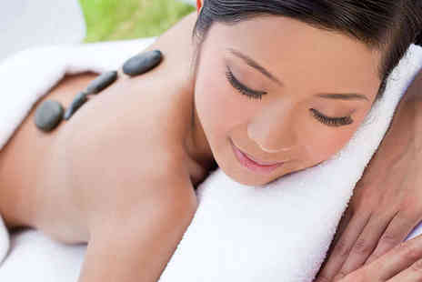Dorthe Thomas Spa - 30 Minute Hot Stone Massage and 30 Minute Crystal - Save 54%