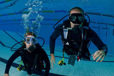 Divemaster Scuba - Beginners PADI Discover Scuba Diving Experience for One - Save 60%