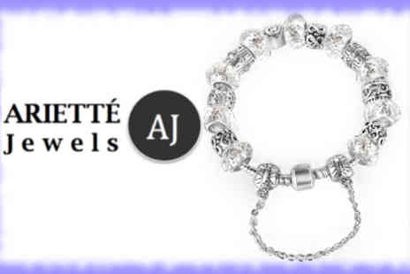 Ariette Jewels - Silver Charms of Life Bracelet - Save 87%