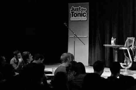 Just the Tonic Comedy Club - Nightclub Entry For Two With Drink - Save 63%