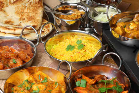 Star of Bengal - Indian takeaway for 2 including mains rice & naans - Save 59%