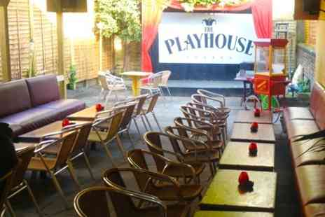 The Playhouse London - Four Cocktails - Save 61%