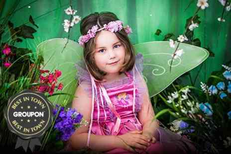 Sian Lewis Photo - Childrens Fairy Photoshoot With Prints - Save 89%
