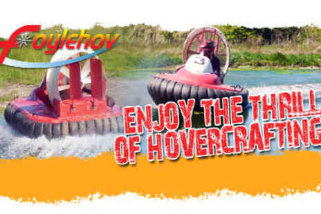 Foylehov - 30 Minute Hovercrafting Session - Save 60%
