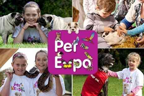 Pet Expo - Pet Expo at Glow Bluewater See all kinds of Animals and enjoy a Great Family Day Out - Save 50%