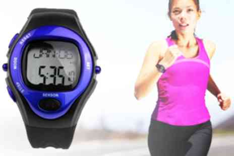Trend Essential - Calorie counter sports watch with pulse heart rate monitor - Save 92%
