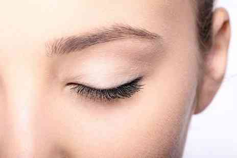 The Hair and Beauty - Eyelash Extensions With HD Brows or Mini Facial - Save 58%