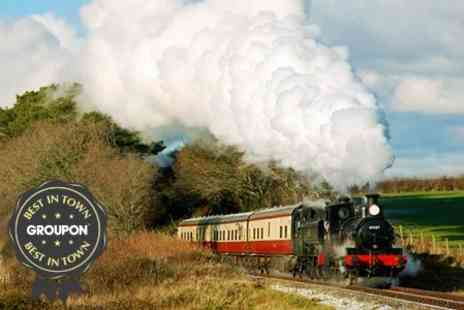 Bodmin & Wenford Railway - Two Adult Steam Train Tickets - Save 54%